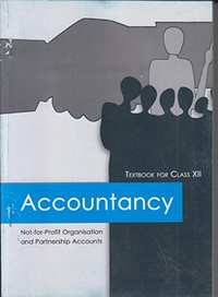 NCERT Solutions for Class 12 Accountancy - Not-for-profit Organisation and Partnership Accounts - Shaalaa.com