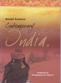 Class 10 Social Science Geography (Contemporary India 2) - Shaalaa.com