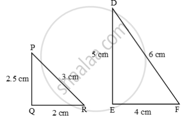 Solution for Examine each pair of triangles in Figure, and