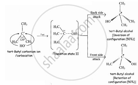 Solution Explain The Mechanism Of Alkaline Hydrolysis Of Tert