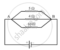 Solution For In The Circuit Diagram Given Below The Current Flowing