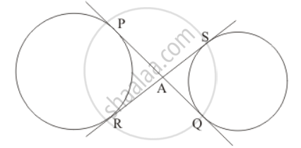 RD Sharma solutions for Class 10 Mathematics chapter 8 - Circles