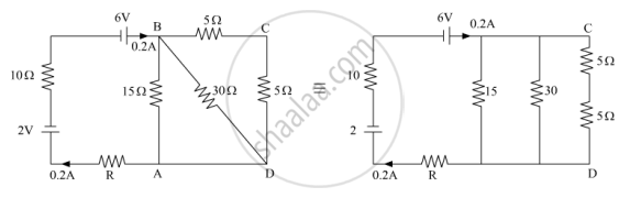 Calculate the Value of the Resistance R in the Circuit Shown in the