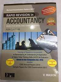 Accountancy Question Bank and Sample Papers Class 12 - Shaalaa.com
