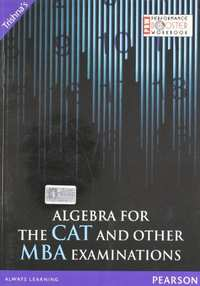 Algebra for the CAT and Other MBA Examinations - Shaalaa.com