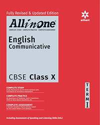 All in One English Communicative CBSE Class 10th Term-1 - Shaalaa.com