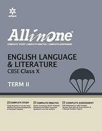 All in One English Language & Literature CBSE Class 10 Term - 2 - Shaalaa.com
