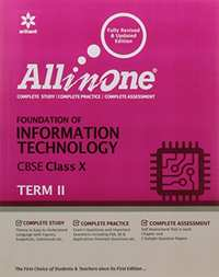 All in One Foundation of Information Technology CBSE Class 10 Term-2 - Shaalaa.com