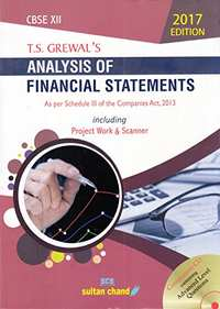 Analysis of Financial Statements As Per Schedule III of the Companies Act, 2013 Class 12: Including Work & Scanner - Shaalaa.com