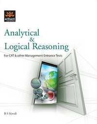 Analytical and Logical Reasoning for Cat and Other Management Entrance Tests - Shaalaa.com