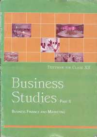 Class 12 Business Studies Part 2 - Business Finance and Marketing - Shaalaa.com