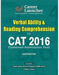 CAT Verbal Ability & Reading Comprehension 2016 - Shaalaa.com