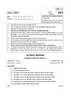 Question Paper - Home Science 2014 - 2015-CBSE 12th-12th CBSE