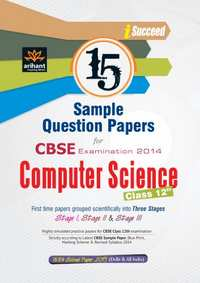 CBSE 15 Sample Question Paper: Computer Science for Class 12th - Shaalaa.com