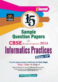 CBSE 15 Sample Question Paper: Information Practices for Class 12th - Shaalaa.com