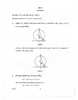 Question Paper - Mathematics 2014 - 2015 10th CBSE