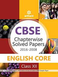 CBSE Chapterwise Solved Papers 2016-2008 ENGLISH CORE Class 12th - Shaalaa.com