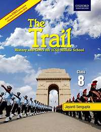 Class 8 the Trail History and Civics for ICSE Middle School - Shaalaa.com