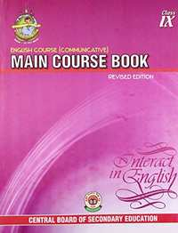 English Course Communicative: Main Course Book Interact in English - Class 9 - Shaalaa.com