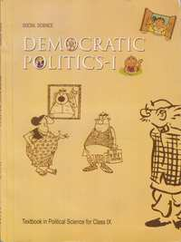 Class 9 Social Science - Democratic Politics - 1 - Shaalaa.com