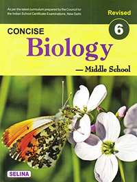 Selina Solutions for Concise Biology Class 6 ICSE - Shaalaa.com