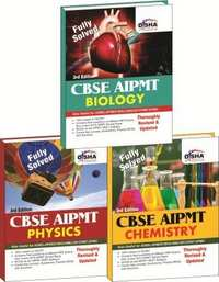 Crack CBSE AIPMT Medical Entrance (set of 3 books - PCB) - 3rd Edition (Must for AIIMS/AFMC/JIPMER) (Old Edition) - Shaalaa.com