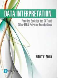 Data Interpretation: Practice Book for the CAT and Other MBA Entrance Examinations, 1e - Shaalaa.com