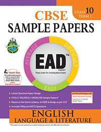 EAD English Language & Literature  - 10 (Term 1) - Shaalaa.com
