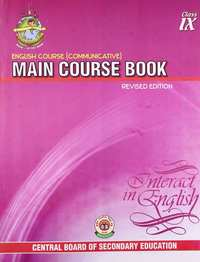 English Course Communicative: Main Course Book Interact in English - Class 10 - Shaalaa.com