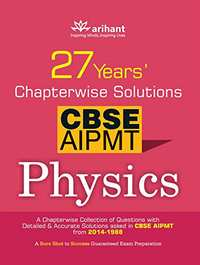 Get an Insinght of - NEET Physics with 27 Years Chapterwise Solutions of CBSE AIPMT & NEET (Old Edition) - Shaalaa.com