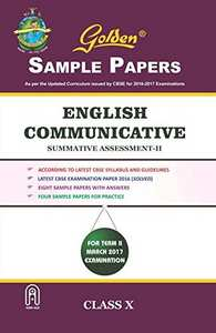 Golden Sample Papers English Communicative Term 2 - Shaalaa.com