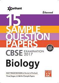 I-Succeed 15 Sample Question Papers CBSE Examination 2017 - Biology Class 12 - Shaalaa.com