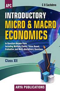 Introductory Micro and Macro Economics (Question Answer Form) Class - 12 - Shaalaa.com