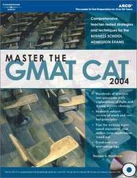 Master the GMAT CAT, 2004/e w/CD-ROM - Shaalaa.com
