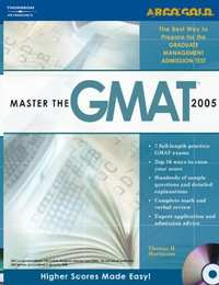 Master the GMAT CAT, 2005/e, w/CD - Shaalaa.com