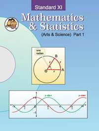 Balbharati Solutions for Mathematics and Statistics 1 (Arts and Science) 11th Standard Maharashtra State Board - Shaalaa.com