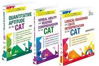 Nishit Sinha's Complete CAT Series Combo of Quantitative Aptitude, Verbal Ability and Reading Comprehension, Logical Reasoning & Data Interpretation - Shaalaa.com