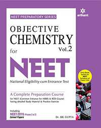 Objective Chemistry Vol. 2 for NEET - Shaalaa.com