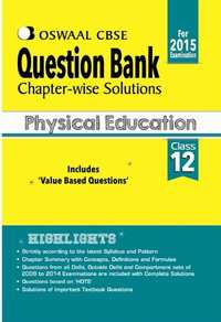 Oswaal CBSE Question Bank Chapter-Wise Solutions for Class 12 Physical Education - Shaalaa.com