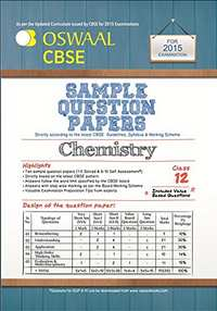 Oswaal CBSE Sample Question Papers for Class 12 Chemistry - Shaalaa.com