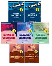 Physics, Chemistry, Maths (Set of 7 Books) For IIT-JEE Main & Advanced By Career Point Kota - Shaalaa.com
