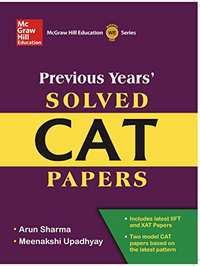 Previous Years' Solved CAT Papers - Shaalaa.com