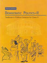 NCERT Solutions for Class 10 Social Science Political Science (Democratic Politics 2) - Shaalaa.com