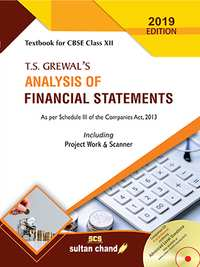 T S Grewal Class 12 Accountancy - Analysis Of Financial Statements - Shaalaa.com