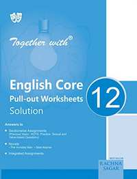 Together With English Core Pull out Solution - 12 - Shaalaa.com
