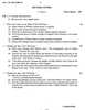 Question Paper - Indian Literature 2014 - 2015 - B.A. - 2nd Year (SYBA) - University of Mumbai