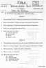 Question Paper - Introduction to Politics 2015 - 2016 - B.A. - 1st Year (FYBA) - University of Mumbai