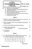 Question Paper - Psychological Testing and Statistics 2015 - 2016 - B.A. - 3rd Year (TYBA) - University of Mumbai