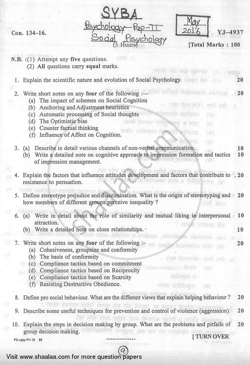 psychology interview paper This paper will discuss the subfields of psychology, the importance of diversity, and the practical applications of psychological principles the impact of diversity in psychology each of the major concepts within psychology emphasizes different parts of human behavior, such as the cognitive, social, spiritual, and unconscious factors, which .
