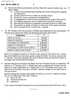 Question Paper - Accounts 2 - Accounting and Financial Management 2014 - 2015 - B.Com. - 2nd Year (SYBcom) - University of Mumbai